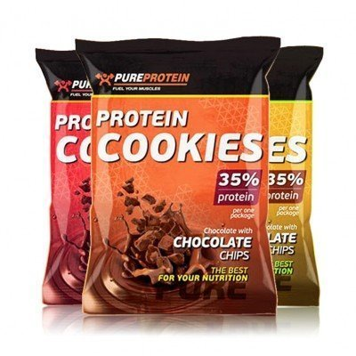 PUREPROTEIN Protein Cookies 35% (12 шт) (NEW)
