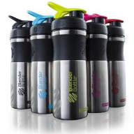 BLENDER BOTTLE SportMixer Stainless 828 мл
