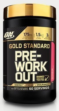OPTIMUM NUTRITION Gold Standard Pre-Workout (60 порций)