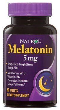 NATROL Melatonin 5 mg (60 таблеток)