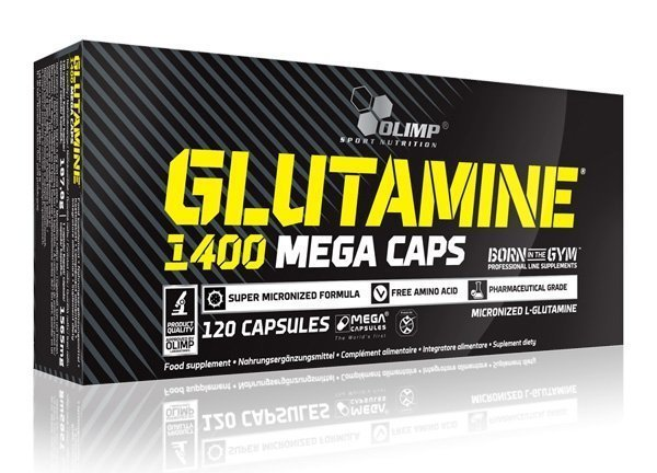 OLIMP Glutamine Mega Caps 1400 120 кап